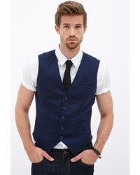 21men 21 Classic Woven Vest