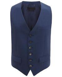 Alexander McQueen Wool Mohair Waistcoat