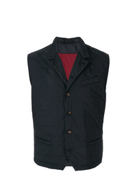 Button down fitted waistcoat medium 7665676