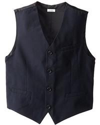 Calvin Klein Boys Ck Pinstripe Button Front Vest