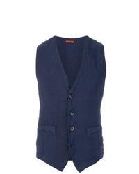 Barena Classic V Neck Waistcoat