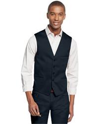 INC International Concepts Collins Slim Fit Vest Only At Macys