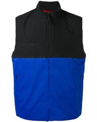 Colour block zipped waistcoat medium 3695854