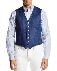 Polo Ralph Lauren Linen Vest 100% Bloomingdales