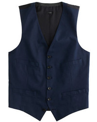 J.Crew Ludlow Suit Vest In Italian Cotton Piqu