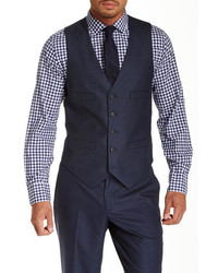 Kenneth Cole New York Modern Solid Component Vest