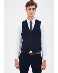 Forever 21 Satin Back Suit Vest