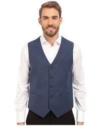 Perry Ellis Solid Texture Suit Vest
