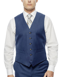 Stafford Stafford Travel Suit Vest Classic