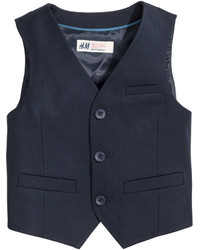 H&M Suit Vest Black Kids
