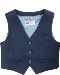 H&M Suit Vest Dark Gray Kids