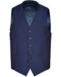 Kenzo Wool Linen Silk Vest