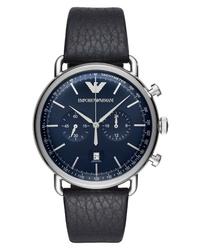Emporio Armani Aviator Chronograph Watch