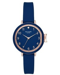 Kate Spade New York Park Row Silicone Strap Watch 34mm