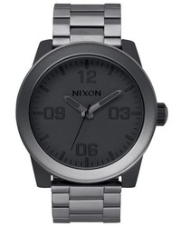 Nixon The Corporal Bracelet Watch 48mm