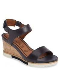 Tamaris Alis Lug Sole Wedge Sandal