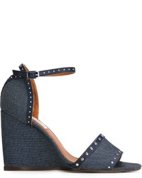 Lanvin Wedge Sandals