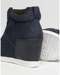 G Star G Star New Labor Denim Wedge Sneakers, $190 | Asos