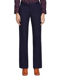 Brooks Brothers Wide Leg Wool Pants