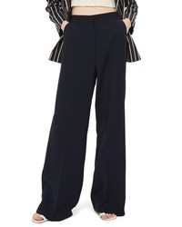 Topshop Clean High Waist Wide Leg Trousers