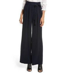 Crepe tie waist pants medium 4913820