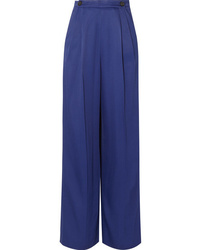 Marni Crepe Wide Leg Pants