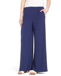 High waist wide leg knit pants medium 3761167
