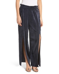 Endless Rose Pleated Velvet Pants