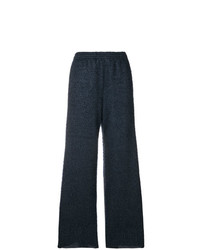 MM6 MAISON MARGIELA Ribbed Wide Leg Trousers