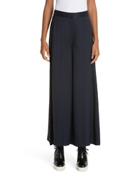 Stella McCartney Snake Crop Wide Leg Pants