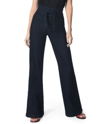 Joe's Tie High Waist Flare Jeans