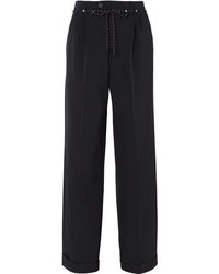 Maison Margiela Twill Wide Leg Pants