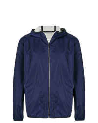 Navy Windbreaker