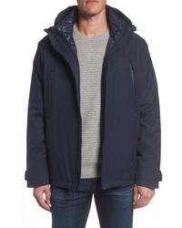 Andrew Marc 3 In 1 Waterproof Rain Jacket With Liner