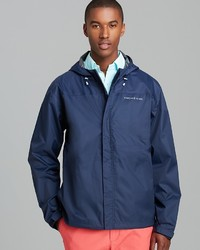 Vineyard Vines Beacon Zip Rain Jacket