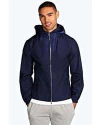 Boohoo Windbreaker Jacket With Hood