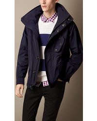 Burberry Funnel Neck Caban
