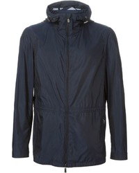 Canali Hooded Windbreaker Jacket