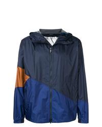 Z Zegna Colour Block Hooded Jacket