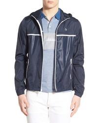 Original Penguin Court Ratner Packable Zip Hooded Jacket
