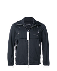 Emporio Armani Hooded Rain Jacket