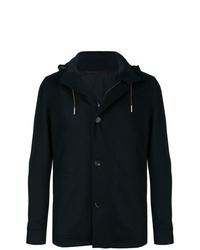 Ermenegildo Zegna Hooded Single Breasted Jacket