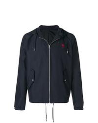 AMI Alexandre Mattiussi Hooded Windbreaker Jacket