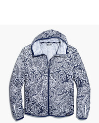 J.Crew New Balance For Paisley Windbreaker