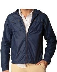Jachs Jachs Waxed Hooded Utility Jacket