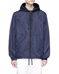 Acne Studios Marwy Face Hooded Windbreaker Jacket