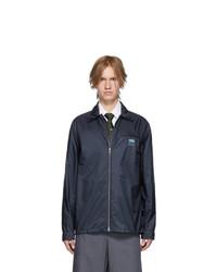 Prada Navy Nylon Jacket