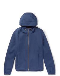 Loro Piana Rain System Stretch Shell Hooded Jacket