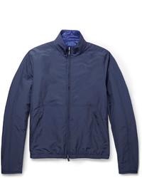 Canali Rain Wind Tech Reversible Lightweight Jacket