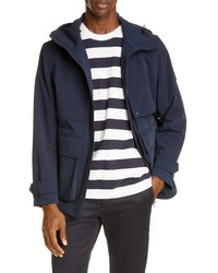 Closed Stretch Hooded Jacket